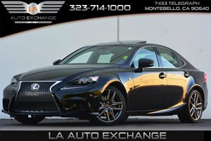 2014 Lexus IS 250  Carfax 1-Owner - No Accidents  Damage Reported to CARFAX 100 Amp Alternator