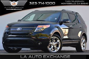 2013 Ford Explorer Limited Flex Fuel Carfax Report Air Conditioning  AC Audio  AmFm Stereo