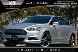 2014 Ford Fusion Titanium Carfax 1-Owner 5 Person Seating Capacity Air Conditioning  Multi-Zone