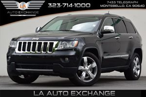 2013 Jeep Grand Cherokee Overland Carfax 1-Owner - No Accidents  Damage Reported to CARFAX 3-Poi