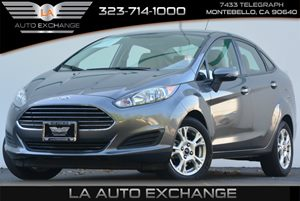 2014 Ford Fiesta SE Carfax 1-Owner 124 Gal Fuel Tank 5 Person Seating Capacity Airbag Occupan