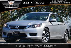2013 Honda Accord Sdn LX Carfax 1-Owner 4 Cylinders Air Conditioning  AC Audio  Cd Player C