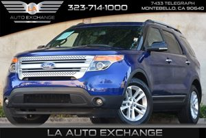 2013 Ford Explorer XLT Carfax 1-Owner 5050 Split-Folding 3Rd Row Seat 6 Cylinders Air Conditio
