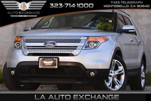 2015 Ford Explorer Limited Carfax 1-Owner Air Conditioning  AC Audio  AmFm Stereo Audio  A
