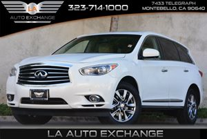 2013 Infiniti JX35  Carfax 1-Owner 4-Wheel Anti-Lock Braking System Abs 6-Way Pwr Front Passen