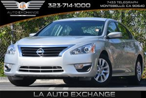 2015 Nissan Altima 25 Carfax 1-Owner 5 Person Seating Capacity Air Conditioning  AC Ashtray