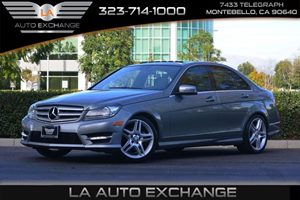 2013 MERCEDES C250 Sport Sedan Carfax 1-Owner - No Accidents  Damage Reported to CARFAX  GRAY