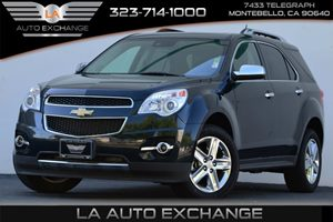 2015 Chevrolet Equinox LTZ Carfax 1-Owner Alternator 120 Amps Audio  Auxiliary Audio Input Au