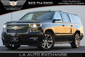 2016 Chevrolet Suburban LTZ Carfax 1-Owner 4-Wheel Drive Air Conditioning  Multi-Zone AC Audi