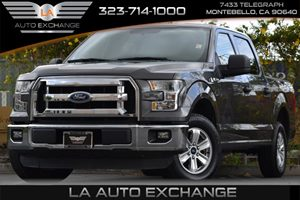 2015 Ford F-150 FLEX FUEL Carfax 1-Owner 200 Amp Alternator 23 Gal Fuel Tank 3 12V Dc Power Ou
