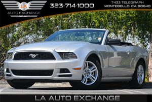 2014 Ford Mustang V6 Carfax 1-Owner 6-Way Driver Seat -Inc Manual Recline Height Adjustment Fo