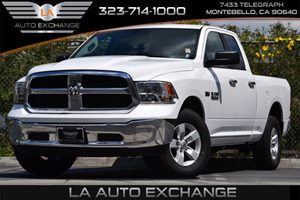 2016 Ram 1500 SLT Carfax 1-Owner - No Accidents  Damage Reported to CARFAX 160 Amp Alternator A