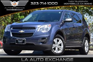 2014 Chevrolet Equinox LS Carfax 1-Owner Alternator 120 Amps Audio  AmFm Stereo Audio  Auxi