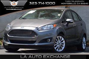 2014 Ford Fiesta SE Carfax 1-Owner - No Accidents  Damage Reported to CARFAX  Grey  All adver