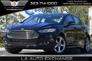 2013 Ford Fusion SE Carfax 1-Owner 4-Wheel Anti-Lock Disc Brakes Convenience  Adjustable Steeri