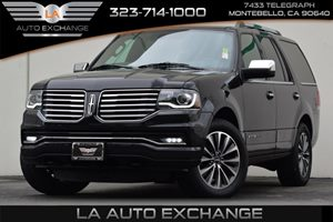 2015 Lincoln Navigator Eco Boost Carfax 1-Owner 7 Person Seating Capacity Air Conditioning  Mul