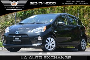 2014 Toyota Prius c Two Carfax 1-Owner 4 Cylinders Air Conditioning  AC Black Door Handles D