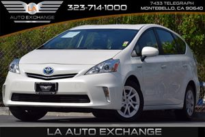 2012 Toyota Prius v Five Carfax 1-Owner 18L Dohc 16-Valve Vvt-I Atkinson-Cycle I4 Hybrid Engine
