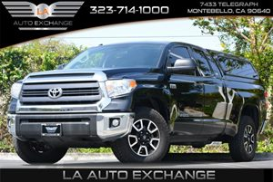 2014 Toyota Tundra 4WD Truck SR5 Carfax 1-Owner 8 Cylinders Air Conditioning  AC Audio  AmF