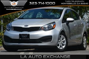 2014 Kia Rio LX Carfax 1-Owner - No Accidents  Damage Reported to CARFAX Air Conditioning  AC