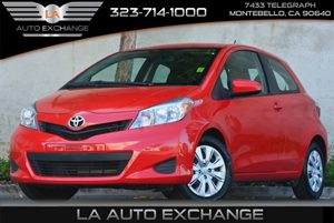 2014 Toyota Yaris L Carfax 1-Owner - No Accidents  Damage Reported to CARFAX Air Conditioning