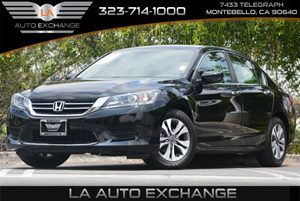 2015 Honda Accord Sedan LX Carfax 1-Owner - No Accidents  Damage Reported to CARFAX 5 Person Sea