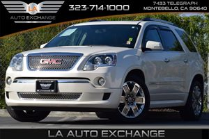 2011 GMC Acadia Denali Carfax Report - No Accidents  Damage Reported to CARFAX Alternator 170 A