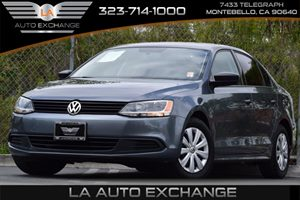 2014 Volkswagen Jetta Sedan S Carfax 1-Owner Front And Rear Anti-Roll Bars Front-Wheel Drive Ho