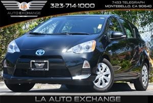 2013 Toyota Prius c Two Carfax 1-Owner - No Accidents  Damage Reported to CARFAX Air Conditionin