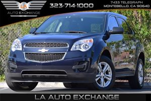 2015 Chevrolet Equinox LS Carfax 1-Owner Alternator 120 Amps Audio  Auxiliary Audio Input Bra