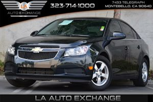 2014 Chevrolet Cruze 1LT Carfax 1-Owner  Black Granite Metallic  All advertised prices exclude