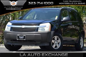 2005 Chevrolet Equinox LS Carfax 1-Owner Axle Rear 270 Ratio Convenience  Adjustable Steering