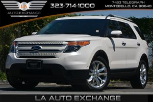 2013 Ford Explorer Limited Carfax 1-Owner Audio  AmFm Stereo Audio  Auxiliary Audio Input Au