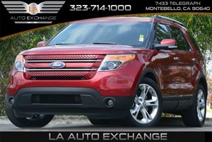 2015 Ford Explorer Limited Carfax 1-Owner - No Accidents  Damage Reported to CARFAX Air Conditio