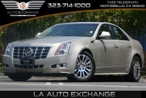 2013 Cadillac CTS Sedan Performance Carfax 1-Owner 6 Cylinders Air Conditioning  AC Audio  A