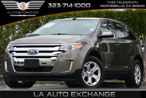 2013 Ford Edge SEL Carfax 1-Owner Air Conditioning  AC Convenience  Automatic Headlights Dis
