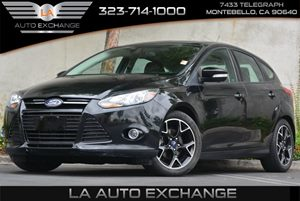 2014 Ford Focus SE Carfax 1-Owner Brake Actuated Limited Slip Differential Convenience  Adjusta