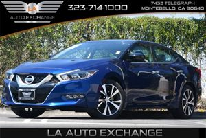 2016 Nissan Maxima 35 S Carfax 1-Owner 5 Person Seating Capacity Air Conditioning  AC Conven