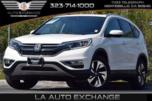 2015 Honda CR-V Touring Carfax Report 153 Gal Fuel Tank Automatic Full-Time All-Wheel Drive B
