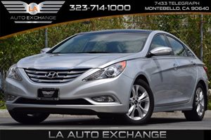 2013 Hyundai Sonata Limited Carfax 1-Owner 110-Amp Alternator 4-Wheel Anti-Lock Brakes Abs -In