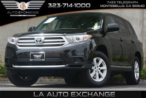 2012 Toyota Highlander SE Carfax Report Air Conditioning  AC Audio  AmFm Stereo Audio  Aux