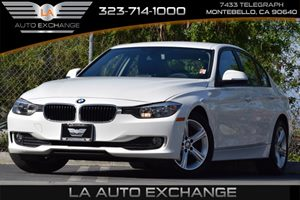 2014 BMW 3 Series 320i Carfax 1-Owner 315 Axle Ratio Airbag Occupancy Sensor Convenience  Adj
