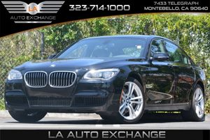 2013 BMW 7 Series 750Li Carfax 1-Owner Air Conditioning  AC Audio  AmFm Stereo Audio  Prem