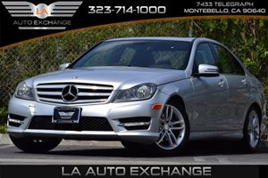 2013 MERCEDES C250 Luxury Sedan Carfax 1-Owner Comfort Suspension Convenience  Adjustable Steer