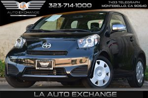 2013 Scion iQ  Carfax 1-Owner 3-Point Seatbelts In All Positions -Inc Driver-Side Emergency Lock