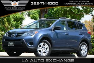 2013 Toyota RAV4 LE Carfax 1-Owner Color-Keyed Rear Spoiler -Inc Led Center High-Mount Stop Ligh