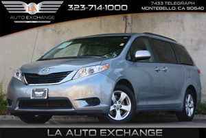 2013 Toyota Sienna LE AAS Carfax 1-Owner Air Conditioning  AC Audio  Auxiliary Audio Input B