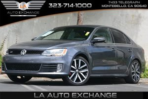 2014 Volkswagen Jetta Sedan GLI Autobahn Carfax 1-Owner 5 Person Seating Capacity Audio  Auxili