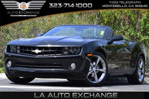 2013 Chevrolet Camaro LT Carfax Report Alternator 150 Amps Audio  Premium Sound System Axle
