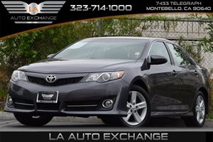 2014 Toyota Camry SE Carfax 1-Owner 17 Gal Fuel Tank 363 Axle Ratio Air Conditioning  AC A